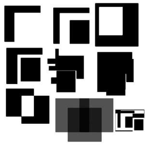 mims rectangles 300x300 Кисть для фотошопа   Квадраты и прямоугольники