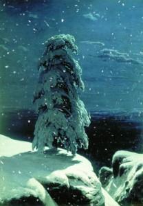 na severe 208x300 Видеоурок   Падающий снег