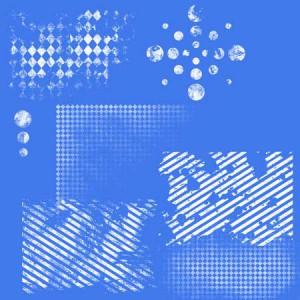 p i b grungish02 300x300 Кисть для фотошопа   Клетки, полосы и линии