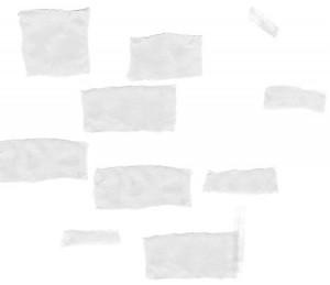 p i b paper and tape 300x259 Кисть для фотошопа   Кусочки бумаги шпаргалки
