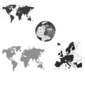 soulworlds 300x300 Кисти для фотошопа   Мировые карты