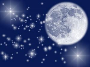 starry night. 300x225 Кисть для фотошопа   Лунная ночь