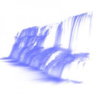 vodopad 300x300 Кисть для фотошопа   Каменный водопад
